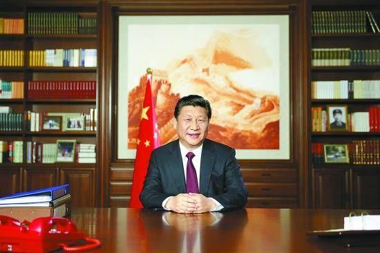 习近平主席发表2015年新年贺词